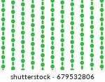 Simple Green Beads Pattern