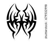 tattoo tribal vector design.... | Shutterstock .eps vector #679532998