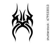 tattoos ideas designs   tribal... | Shutterstock .eps vector #679533013