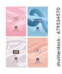 banners templates in pastel... | Shutterstock .eps vector #679534570