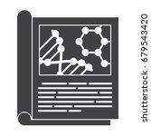 scientific journal  vector... | Shutterstock .eps vector #679543420