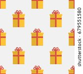 vector seamless pattern with... | Shutterstock .eps vector #679551580