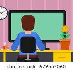 vector illustration of man... | Shutterstock .eps vector #679552060