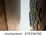 by the side of the building   Shutterstock . vector #679558780