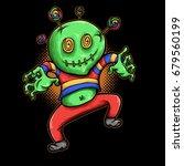 vector illustration of candy boy   Shutterstock .eps vector #679560199