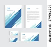 brochure  flyer or report for... | Shutterstock .eps vector #679561324