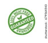 100  meat free rubber grunge...   Shutterstock .eps vector #679564543