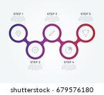 step by step infographic... | Shutterstock .eps vector #679576180