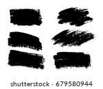 Vector Black Paint  Ink Brush...