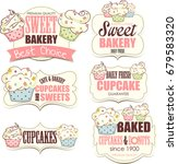 bakery shop banners with... | Shutterstock . vector #679583320