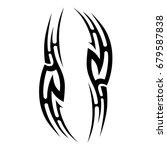 tattoo tribal vector design.... | Shutterstock .eps vector #679587838