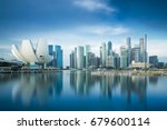 Singapore Skyline - Fine Art prints