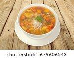 soup. | Shutterstock . vector #679606543