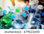 selective focus plastic bottle... | Shutterstock . vector #679622650