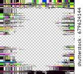 glitch background. computer... | Shutterstock .eps vector #679624144