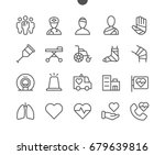 medical ui pixel perfect well... | Shutterstock .eps vector #679639816