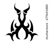 tattoo tribal vector designs. | Shutterstock .eps vector #679641880