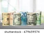 currency. | Shutterstock . vector #679659574