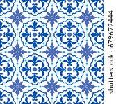 portuguese traditional ornate...   Shutterstock .eps vector #679672444