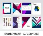 abstract business brochure...   Shutterstock .eps vector #679684003