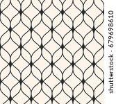 vector seamless pattern in... | Shutterstock .eps vector #679698610