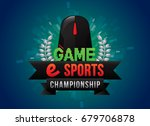 vector of game electronic...   Shutterstock .eps vector #679706878