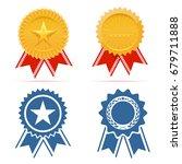award ribbon | Shutterstock .eps vector #679711888