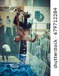 moscow   6 september 2015 ...   Shutterstock . vector #679712284