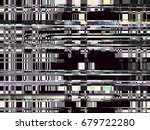 glitch background. computer... | Shutterstock .eps vector #679722280