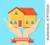 house insurance | Shutterstock .eps vector #679725310