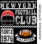 football sport typography  t...   Shutterstock .eps vector #679728184