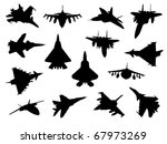 weapon collection  fighter jets