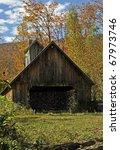 Vermont Sugar Shack In Autumn...