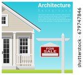 real estate investment...   Shutterstock .eps vector #679747846