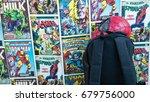 samara  russia   july 16 2017   ... | Shutterstock . vector #679756000