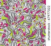 ethnic seamless pattern | Shutterstock .eps vector #67977322
