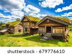 old traditional norwegian... | Shutterstock . vector #679776610