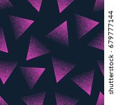 vector abstract stippled... | Shutterstock .eps vector #679777144