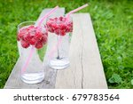 refreshing summer drink with... | Shutterstock . vector #679783564