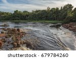 Small photo of Fluent African river in Angola.