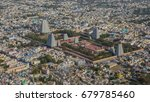 top view of tiruvannamalai city ...   Shutterstock . vector #679785460