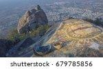 top view of tiruvannamalai city ...   Shutterstock . vector #679785856