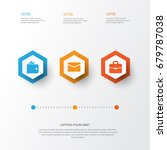 job icons set. collection of... | Shutterstock .eps vector #679787038