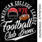 football sport typography  t...   Shutterstock .eps vector #679787344