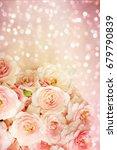 roses background | Shutterstock . vector #679790839