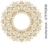 decorative line art frames for... | Shutterstock .eps vector #679792858