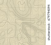 background of the topographic... | Shutterstock .eps vector #679794094