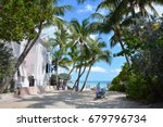 key west   dog beach | Shutterstock . vector #679796734