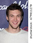 Small photo of Los Angeles, CA, USA; March 01, 2012; Philip Philips arrives to the American Idol Finalist Party.