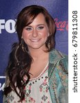 Small photo of Los Angeles, CA, USA; March 01, 2012; Skylar Laine arrives to the American Idol Finalist Party.